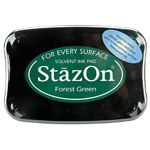 (StazOn Color Ink Pad Color: Forest Green)