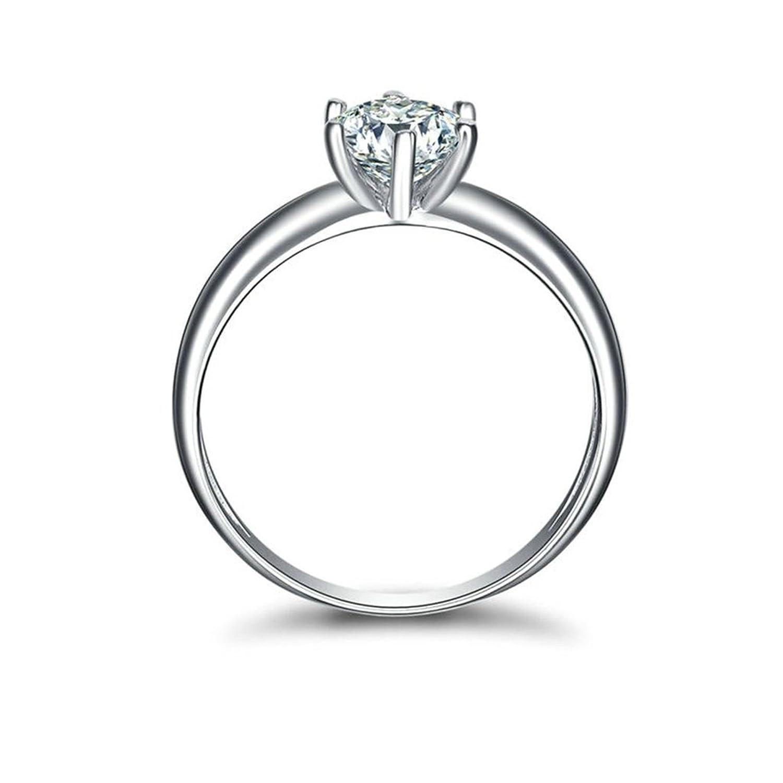 Gnzoe Schmuck Damen 925 Sterling Silber Ringe Damenringe Eheringe
