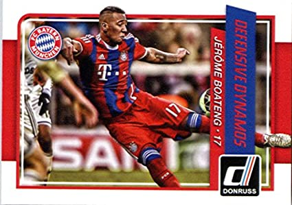 Amazoncom 2015 Donruss Defensive Dynamos 3 Jerome Boateng Fc