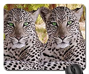 two leopards Mouse Pad, Mousepad (Cats Mouse Pad)