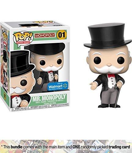 Mr. Monopoly : Funko POP! Board Games Vinyl Figure + 1 Ameri