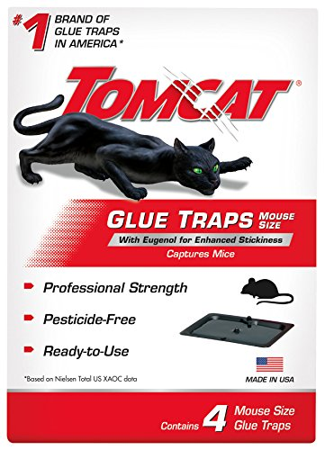 Tomcat mouse glue trap