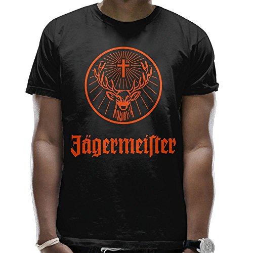 Evelyn C. Connor Men's Jagermeister Tshirt Black M