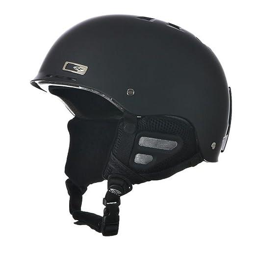 51f1212a097e4 Amazon.com  Smith Optics Unisex Adult Holt Snow Sports Helmet (Matte Black