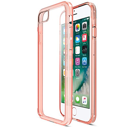iPhone 7 Case, Trianium [Clarium Series] Premium Shock Absorption TPU Bumper Cushion...