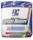 Ronnie Coleman Signature Series Yeah Buddy 30 Serve Pre-Workout Supplement, Cherry Limeade, 240 Gram