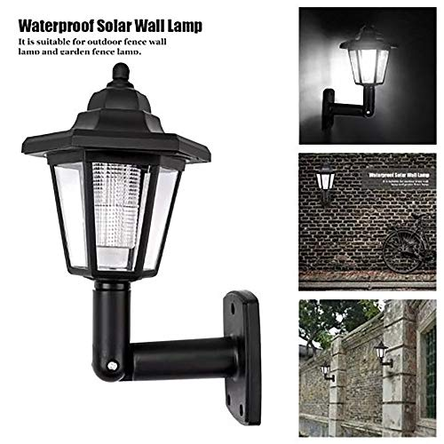 Flash Light, Solar Power LED Light Path Way Wall Landscape Mount Garden Fence Lamp Outdoor by Little Story - Galaxy Handcrafted Lamp
