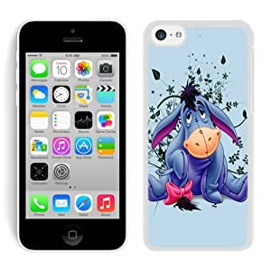 Eeyore White Case for iPhone 5C,Prefectly fit and directly access all the features