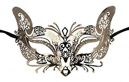 Masquerade Wolf Mask (KAYSO INC Sexy Wolf Laser Cut Masquerade Mask)