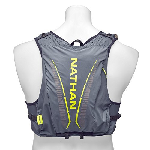 Nathan NS4536 Vaporkrar Hydaration Pack Running Vest with 1.8L Bladder, Blue Stone, Small by Nathan (Image #5)