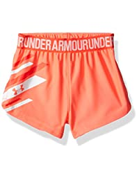 Under Armour Baby-Girls Baby Girls Graphic Play Up Short