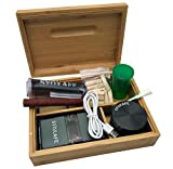 SYOXAFE Bamboo Rolling Tray Kit with 8-in-1