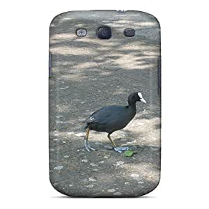 Tpu Shockproof/dirt-proof Bird On The Street Uk Vacation Cover Case For Galaxy(s3)