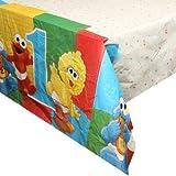 : Sesame Street 1st Birthday Plastic Table Cover (1ct)