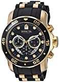Image of Invicta Men's 6981 Pro Diver Analog Swiss Chronograph Black Polyurethane Watch