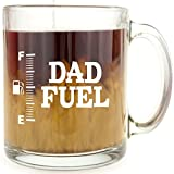 Dad Fuel - Glass Coffee Mug - Makes - Best Reviews Guide