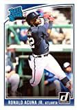 #7: 2018 Donruss Wrapper Redemption #283 Ronald Acuna Jr. Baseball Card - Rated Rookie