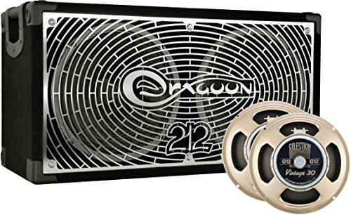 DRAGOON260C8V Handcrafted High Performance 2x12 Inches Guitar Speaker Cabinet with Celestion G12 Vintage -
