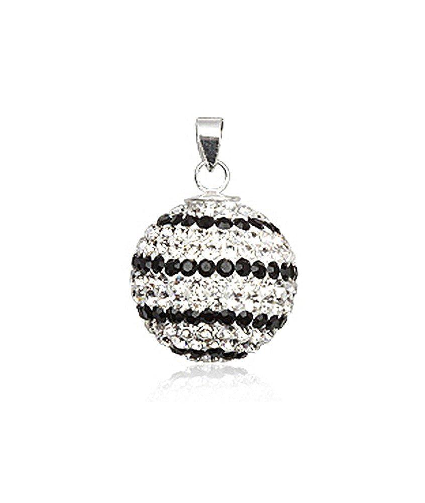 Bijoux colgante balón sonoro Elfos parsemé de Swarovski Elements ...
