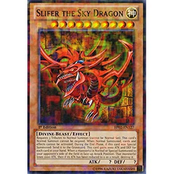 Amazoncom Yu Gi Oh Slifer the Sky Dragon BP02 EN127 Battle