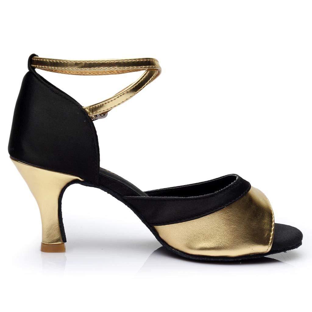 Linlink Mujeres Se/ñOras De Alto Nivel S/óLido Color Latino Baile Zapatos De Baile Moderno Zapato Rumba Sal/ón De Baile Singles Zapatos Sandalias De Las Mujeres