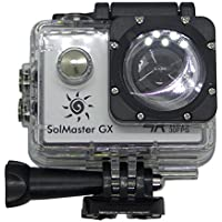 SolMaster GX Sports Camera Kit, 4K 30fps Ultra HD, 16MP, 30M Waterproof, 170° Wide Angle Lens.