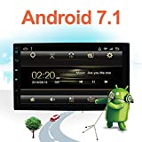 Latest Android 7.1 Car Radio 7'' HD 1024600 Touchscreen Car Navigation Stereo - 2 Din Quad core Car Entertainment Multimedia/FM/AM/RDS Radio,GPS,WiFi,BT,Mirror Link(No DVD Player!)