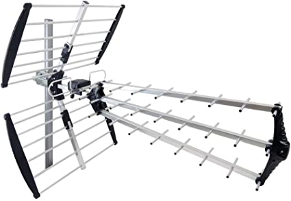 BeMatik - Antena de exterior de TV/TDT UHF de 15dB tipo fácil ...