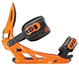 K2 Men's Sonic Snowboard Binding 2015 (Orange, M)