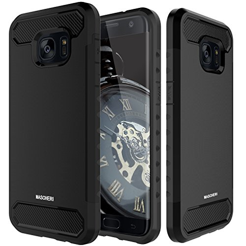 Shockproof Armor Case for Samsung Galaxy S7 Edge (Black) - 6