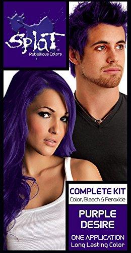 Splat Semi Perm Hair Color, Purple Desire -