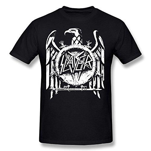 DonM.Mason Cotton Youth Man Popular Short Sleeves T Shirt Shirts Slayer Band Black XXL - Slayer T-shirts Band