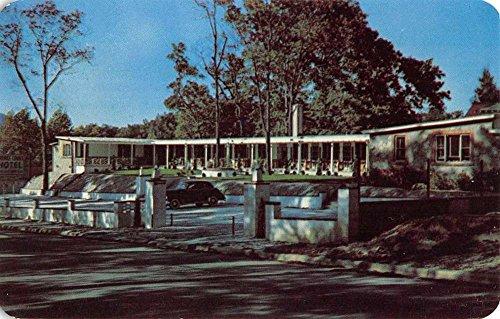 Hendersonville North Carolina Terrace Court Hotel Vintage Postcard (North Terrace)