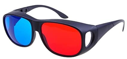 e19371e2e0d Glasses Direct-3D Glasses - 3D Vision Ultimate Anaglyph 3D Glasses - Made  To Fit
