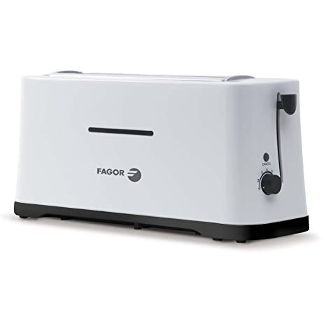 Fagor TT-501LE Tostador, 980 W, ranura Color blanco