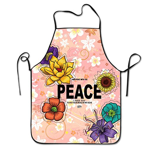 Peace 2017 New Style Fashion Kitchen Apron For Tailgating BBQ Grill Pit Master - Juicy Love Tracksuit