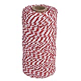 Arts & Crafts : eBoot Cotton Kitchen Twine, Cooking String, Bakers Twines for Arts Crafts and Gift Wrapping, 328 Feet (Red)