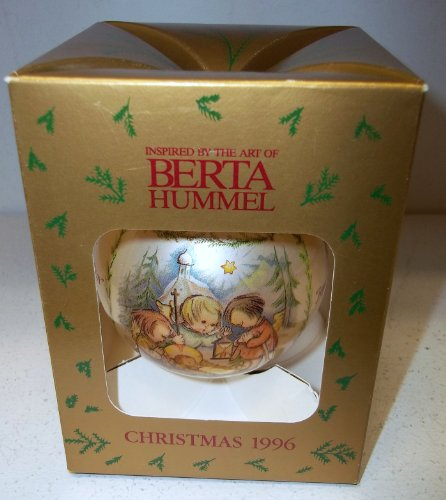 Goebel Berta Hummel Inspired Christmas 1996 Annual Christmas Ball (Ornament 1996 Christmas)
