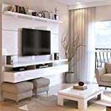 Manhattan Comfort City 1.8 Series 72'' TV Panel in White Gloss