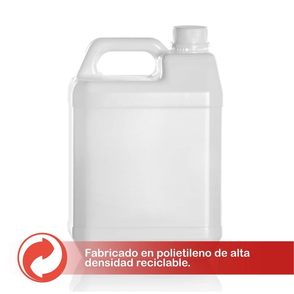 furgoneta camper Garrafas bidon de plastico de 5 litros homologado ADR boca ancha ideal para agua gasolina y qu/ímicos tambi/én como deposito para aire acondicionado camping 2