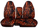 60 40 seat covers camo chevy - Fits 2004 to 2012 Chevrolet Colorado 60 40 Seat Covers Camouflage Seat Covers with Armrest Option (Separate Armrests, Dawn Camouflage)