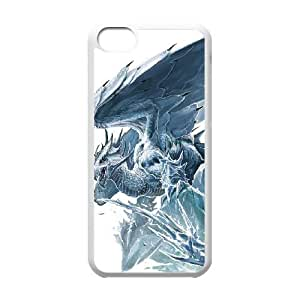 Ancient Dragon iPhone 5c Cell Phone Case White present pp001_9612186
