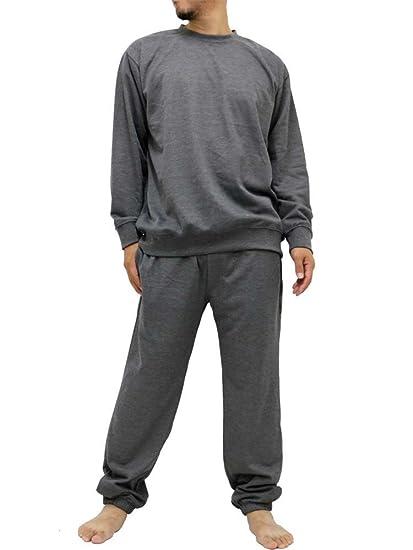 12d80afcb World Smack Basic Men's Crew Neck Sweatsuits Sweatshirts and Sweatpants Set  Tracksuit Big and Tall -