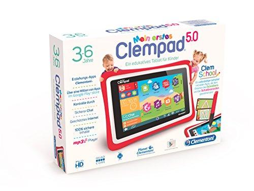 Clementoni 69483.9 - Mein erstes Clempad Quad Core Tablets und Zubehör 3 PLUS