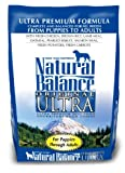 Natural Balance Ultra Premium Formula Dog Food, 5-Pound Bag, My Pet Supplies