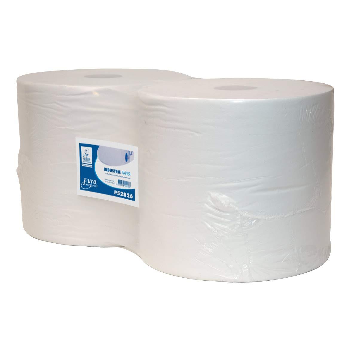 MTS P54010 - Rollo color de papel suave, 1 capa, color Rollo blanco 4dafb0