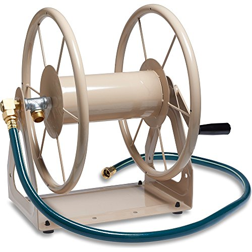 Hose Depot Reel Home (Liberty Garden Multi Purpose Wall Mount Hose Reel)
