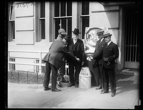 (Vintography Geo. Wash. Post of The Amer. Legion conducting Drive on tinfoil, Rubber and Other Materials)
