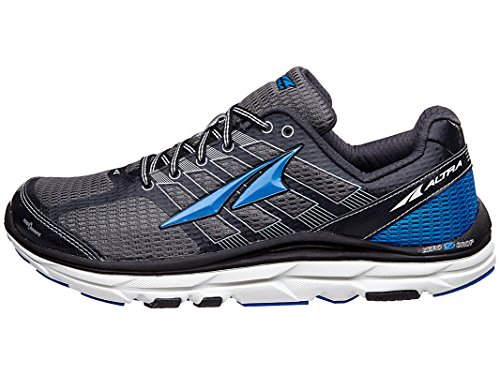 Altra Men's Provision 3 Trail Runner, Charcoal/Blue, 9.5 M US AFM1745F