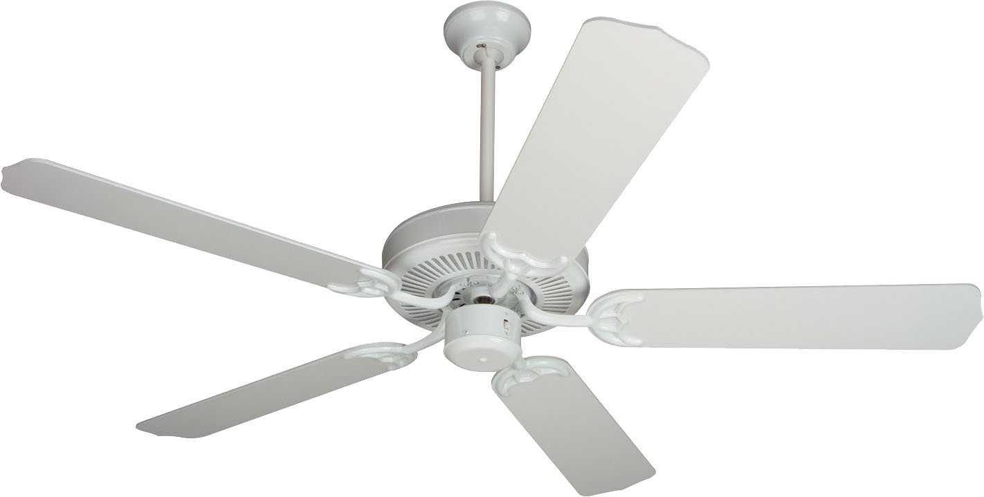 Craftmade cd52w 52 inch contractors design ceiling fan white craftmade cd52w 52 inch contractors design ceiling fan white blades sold separately amazon mozeypictures Choice Image